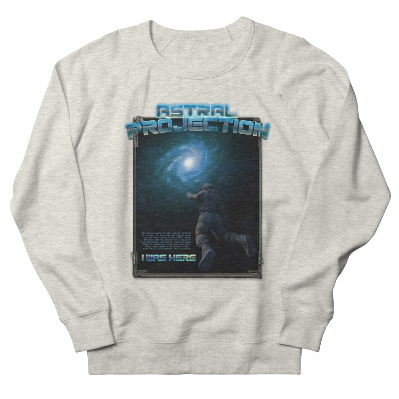 """The Spirit Armory """"Astral Projection"""" Men's French Terry Sweatshirt by Official Loc Saint Music Merch"""