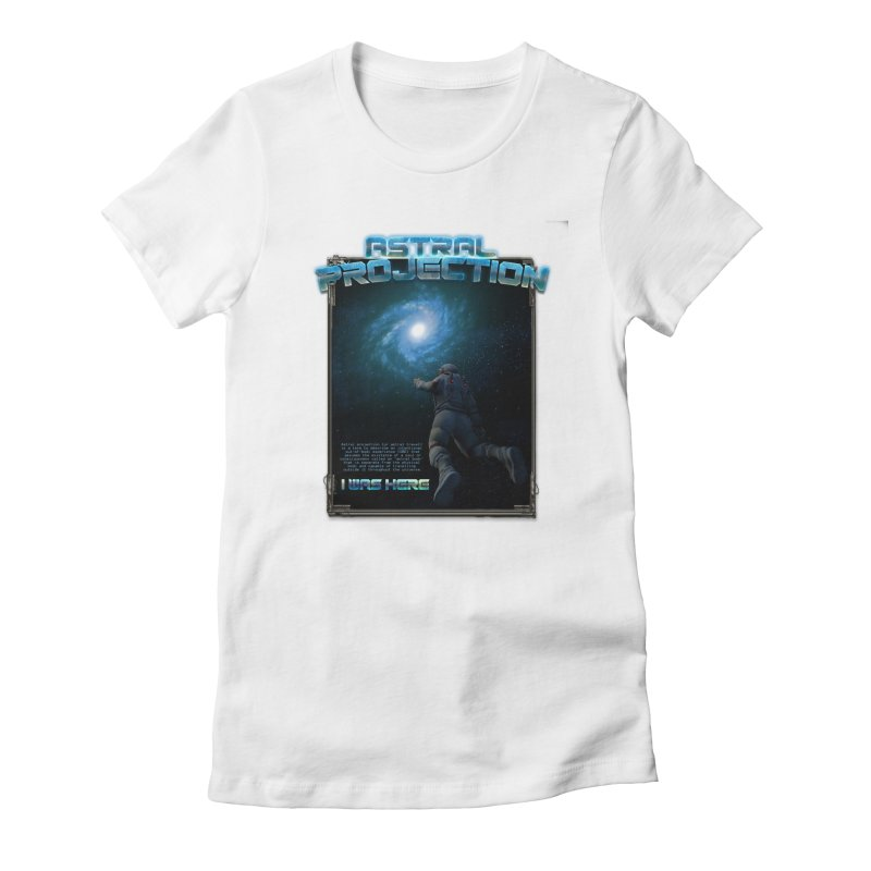 "The Spirit Armory ""Astral Projection"" Women's Fitted T-Shirt by Official Loc Saint Music Merch"