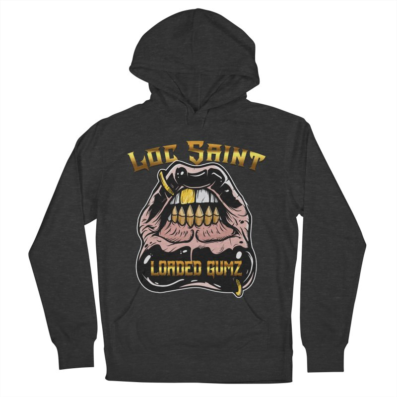 Loaded Gumz Men's French Terry Pullover Hoody by Official Loc Saint Music Merch