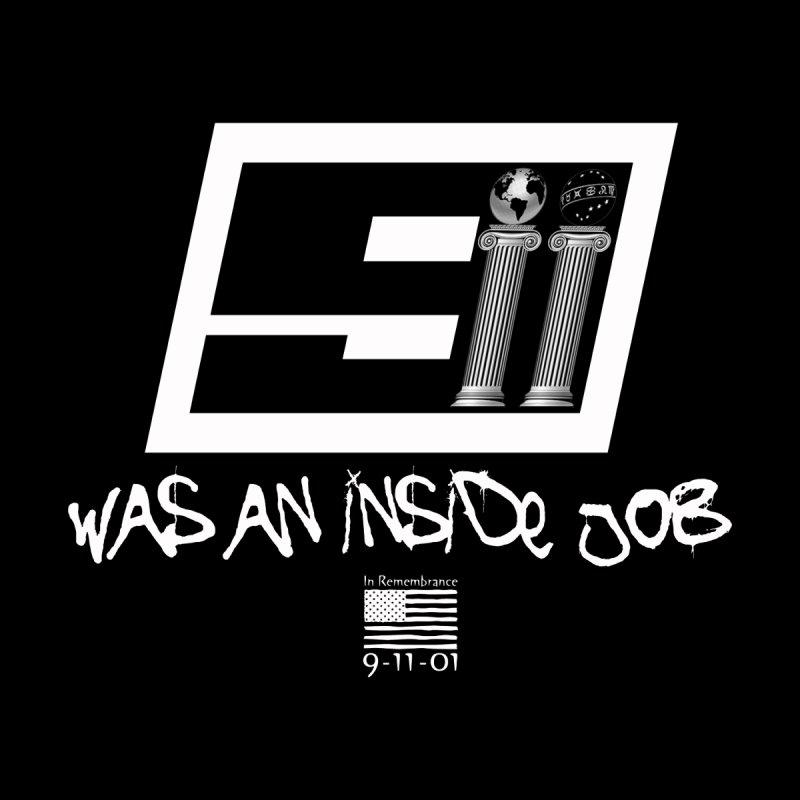 9/11 Was An Inside Job (2 Pillars) Men's T-Shirt by Official Loc Saint Music Merch