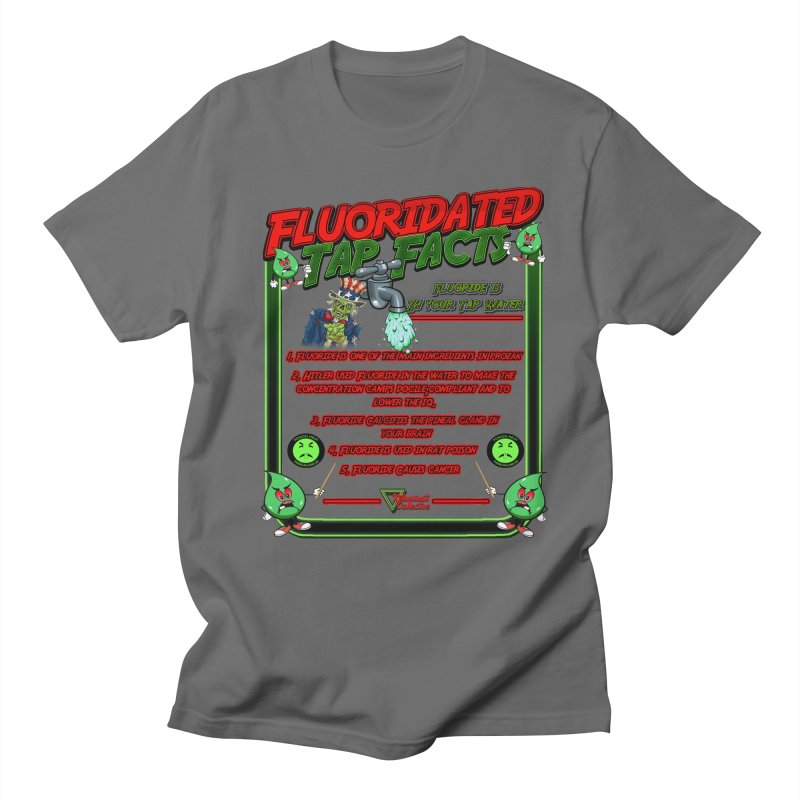 Fluoridated Tap Facts Men's T-Shirt by Official Loc Saint Music Merch