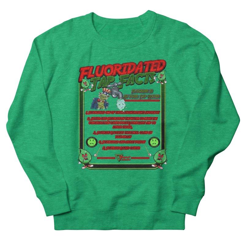 Fluoridated Tap Facts Men's Sweatshirt by Official Loc Saint Music Merch