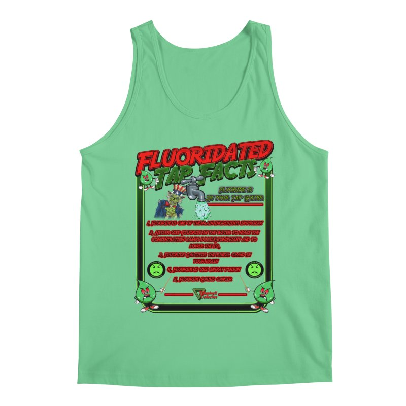 Fluoridated Tap Facts Men's Tank by Official Loc Saint Music Merch