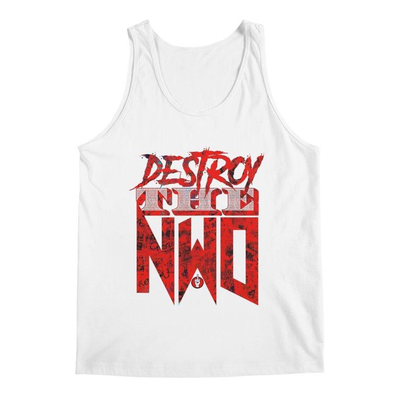 Destroy The NWO in Men's Regular Tank White by Official Loc Saint Music Merch