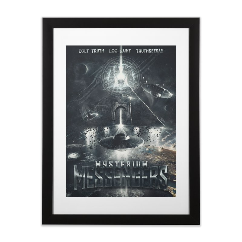 Messengers Mysterium Home Framed Fine Art Print by Official Loc Saint Music Merch
