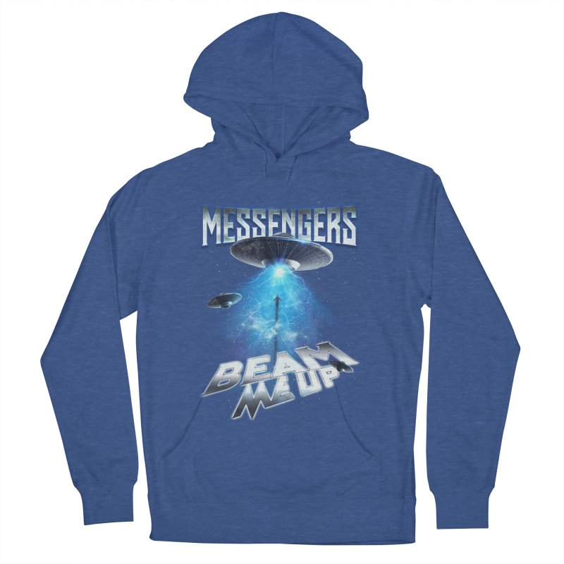 """Messengers """"Beam Me Up"""" Women's French Terry Pullover Hoody by Official Loc Saint Music Merch"""