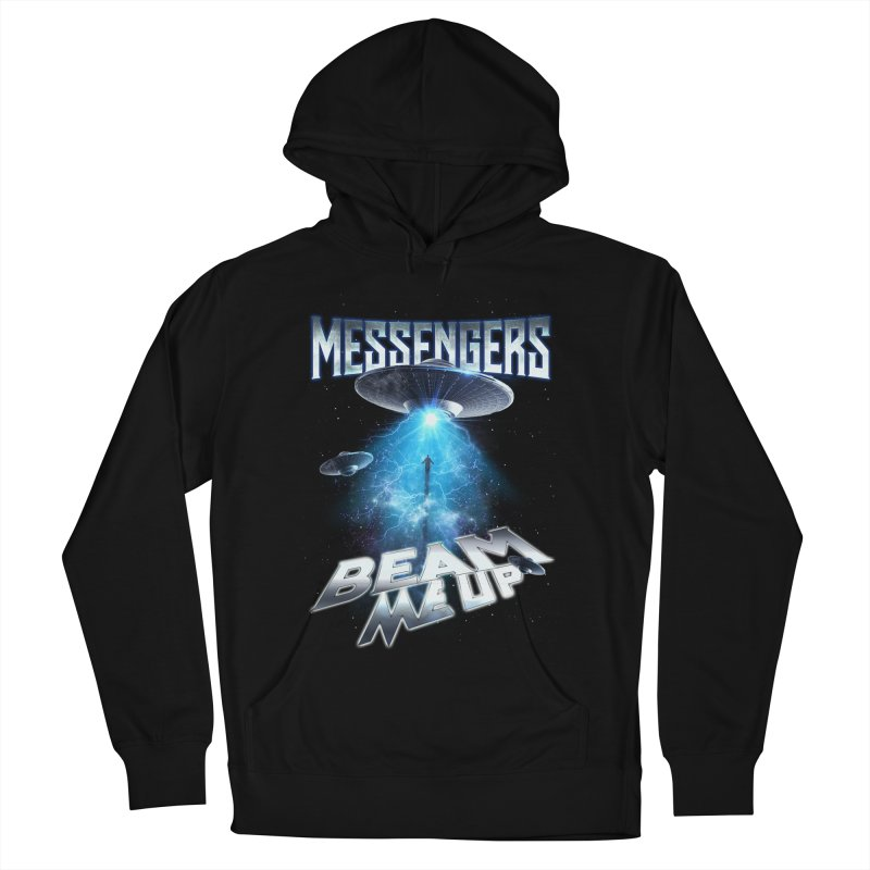 "Messengers ""Beam Me Up"" Men's French Terry Pullover Hoody by Official Loc Saint Music Merch"