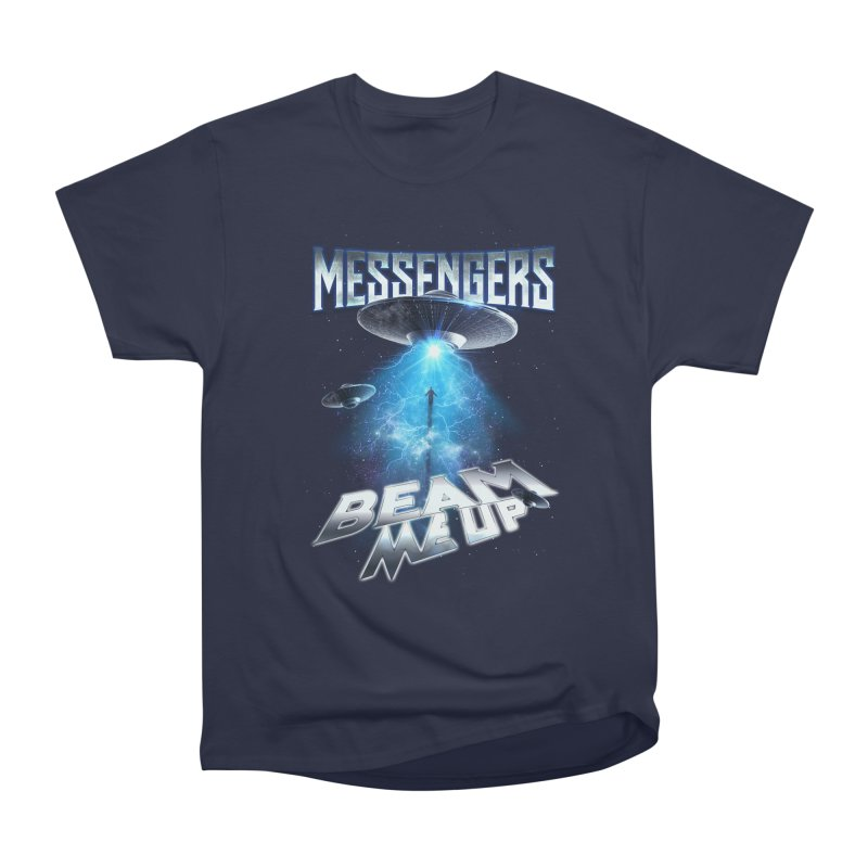 """Messengers """"Beam Me Up"""" Men's Heavyweight T-Shirt by Official Loc Saint Music Merch"""