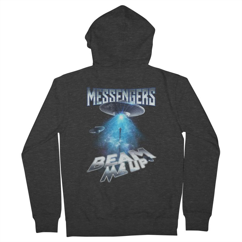 "Messengers ""Beam Me Up"" Men's French Terry Zip-Up Hoody by Official Loc Saint Music Merch"