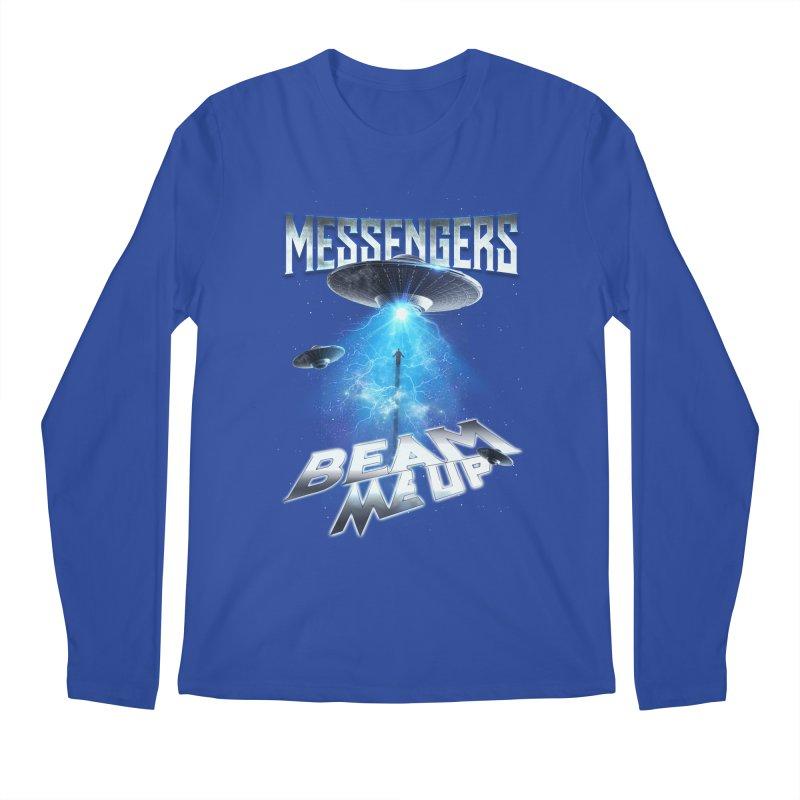 """Messengers """"Beam Me Up"""" Men's Regular Longsleeve T-Shirt by Official Loc Saint Music Merch"""