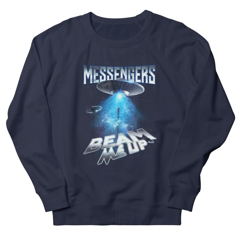 "Messengers ""Beam Me Up"" in Men's French Terry Sweatshirt Navy by Official Loc Saint Music Merch"