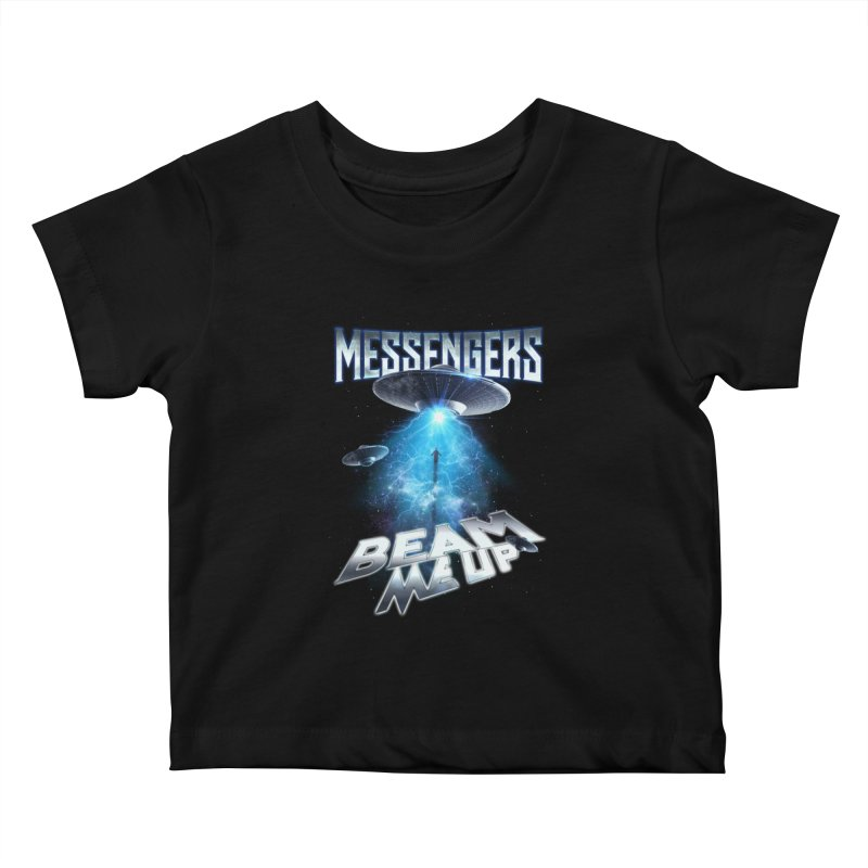 "Messengers ""Beam Me Up"" Kids Baby T-Shirt by Official Loc Saint Music Merch"