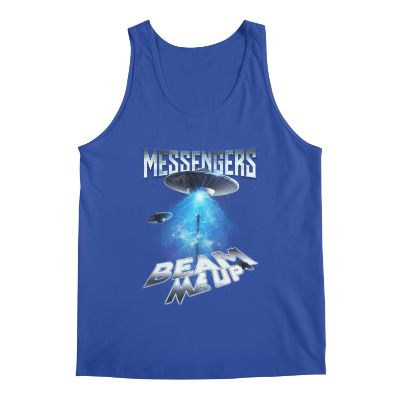 "Messengers ""Beam Me Up"" Men's Regular Tank by Official Loc Saint Music Merch"