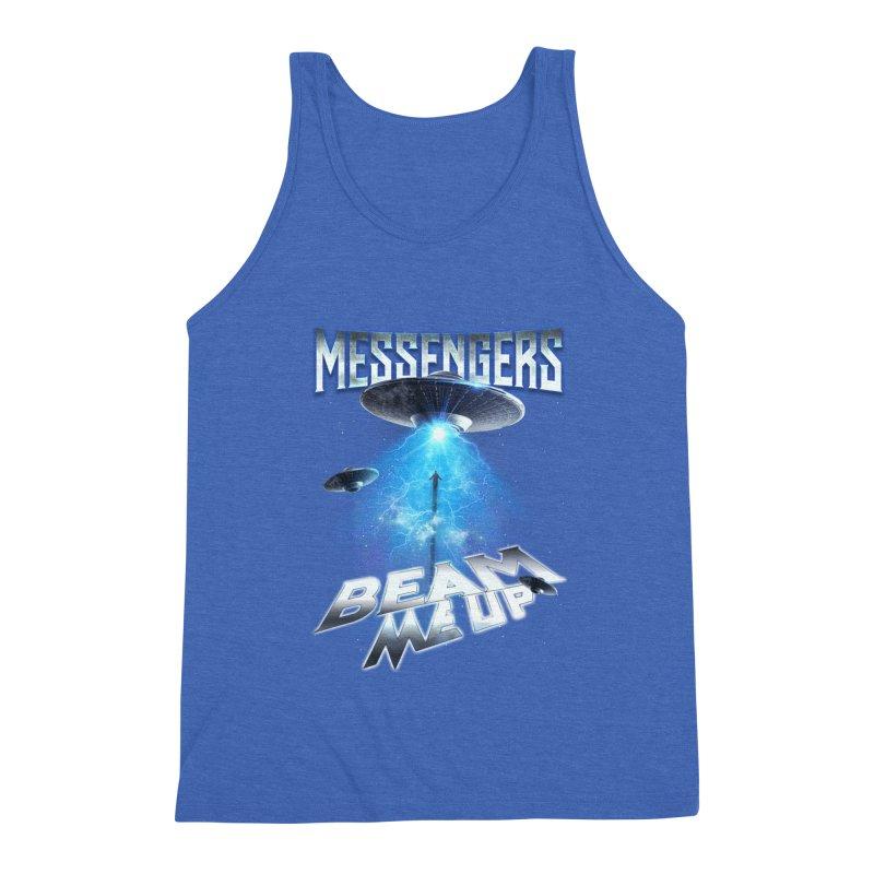 "Messengers ""Beam Me Up"" Men's Triblend Tank by Official Loc Saint Music Merch"
