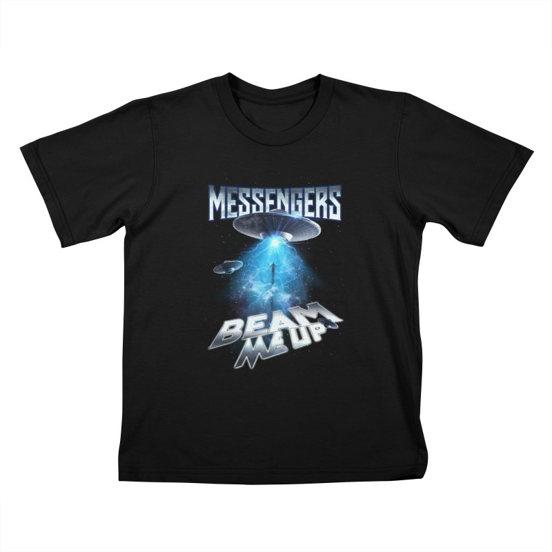 """Messengers """"Beam Me Up"""" Kids T-Shirt by Official Loc Saint Music Merch"""