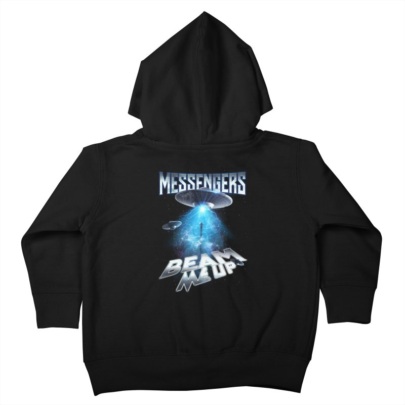 "Messengers ""Beam Me Up"" Kids Toddler Zip-Up Hoody by Official Loc Saint Music Merch"