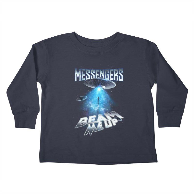 """Messengers """"Beam Me Up"""" Kids Toddler Longsleeve T-Shirt by Official Loc Saint Music Merch"""