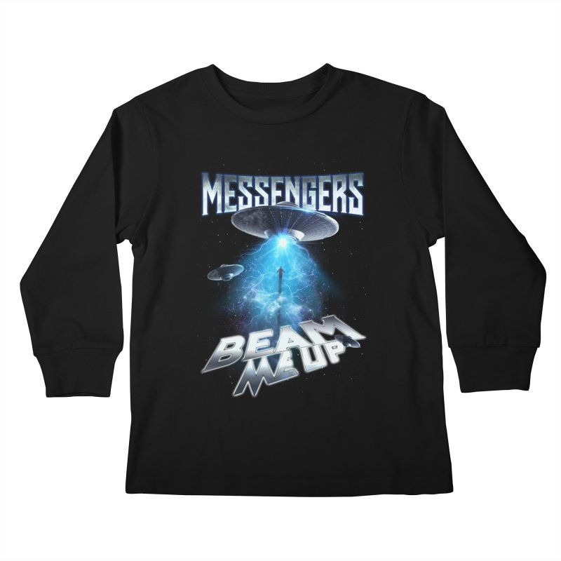 "Messengers ""Beam Me Up"" Kids Longsleeve T-Shirt by Official Loc Saint Music Merch"