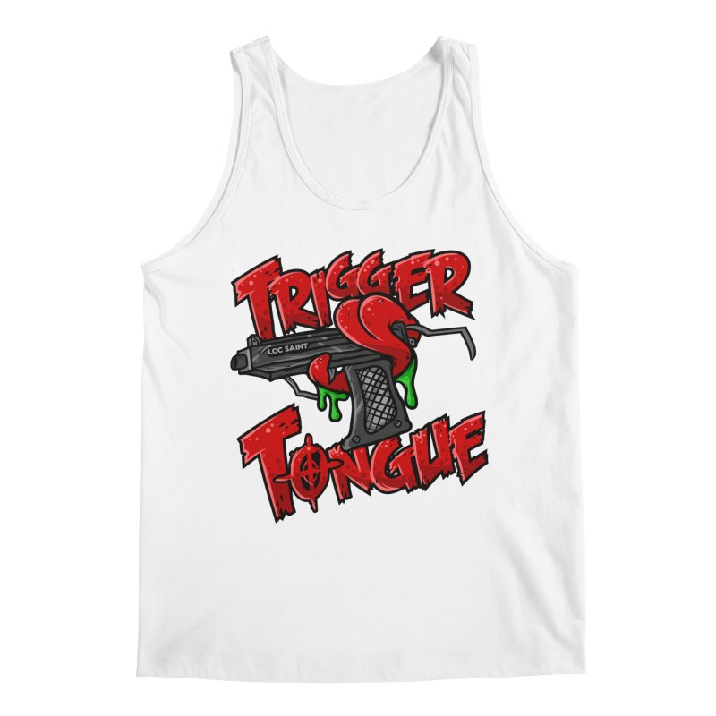 Trigger Tongue (Red) Men's Regular Tank by Official Loc Saint Music Merch