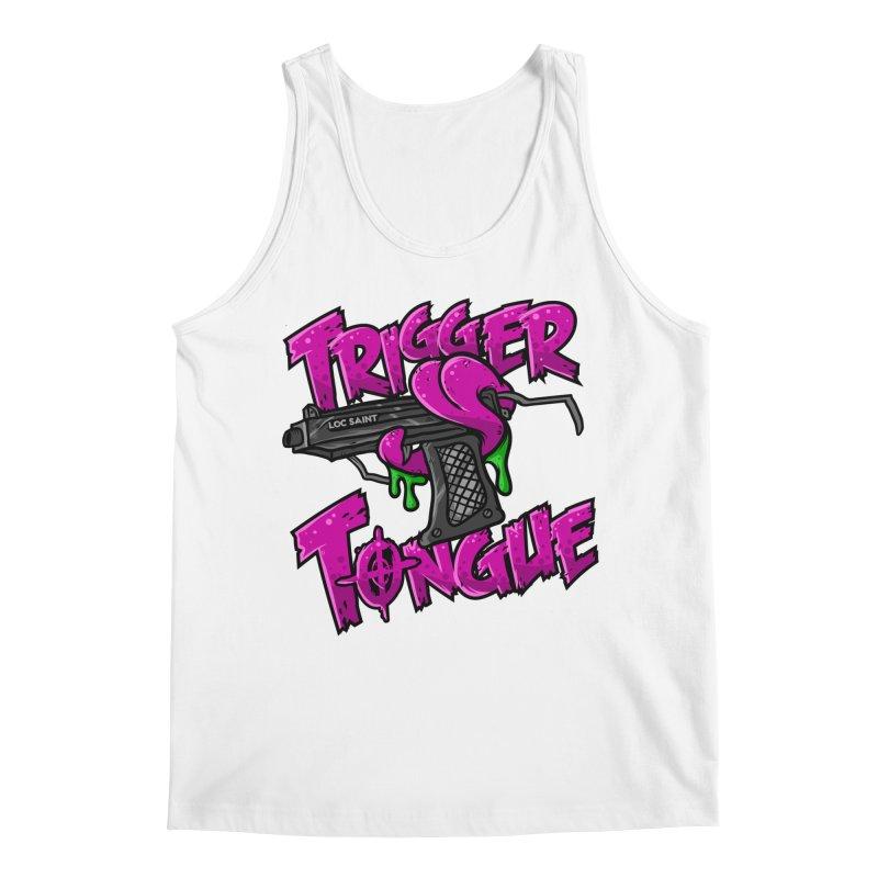 Trigger Tongue (Pink) Men's Regular Tank by Official Loc Saint Music Merch