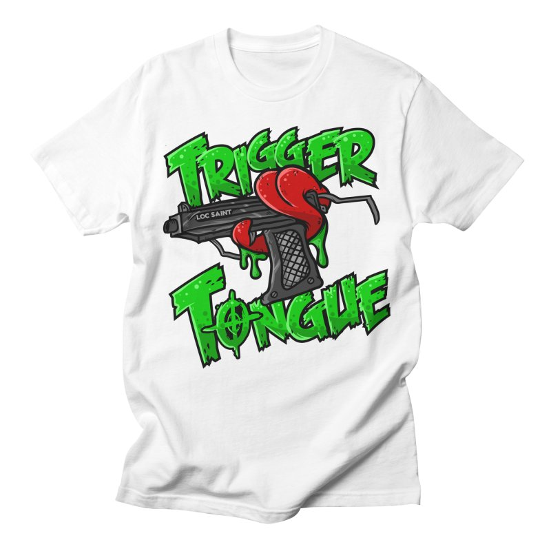 Trigger Tongue (Green) Women's Regular Unisex T-Shirt by Official Loc Saint Music Merch