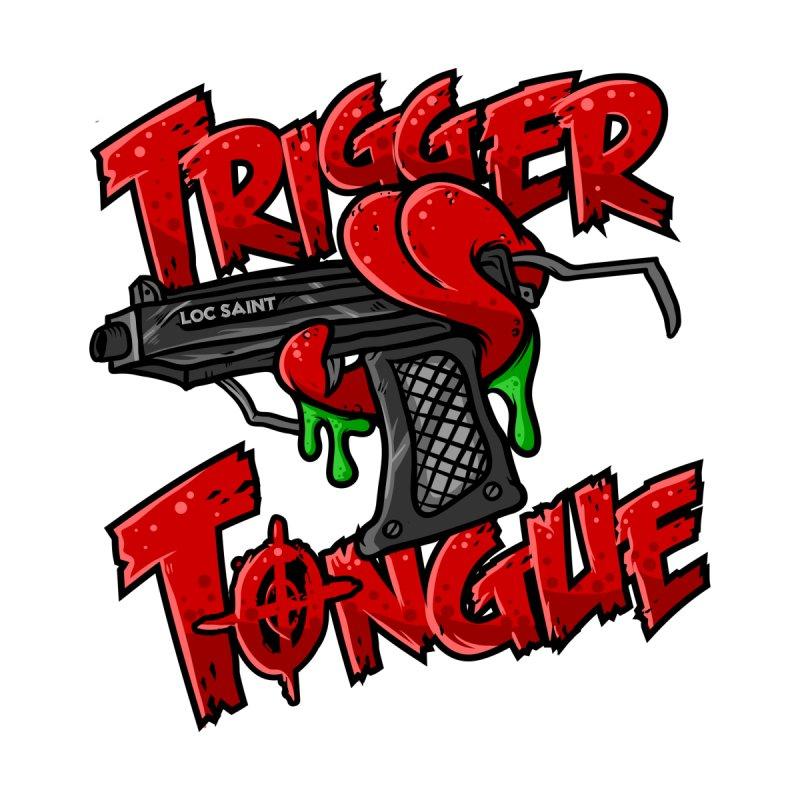 Trigger Tongue Mugs by Official Loc Saint Music Merch