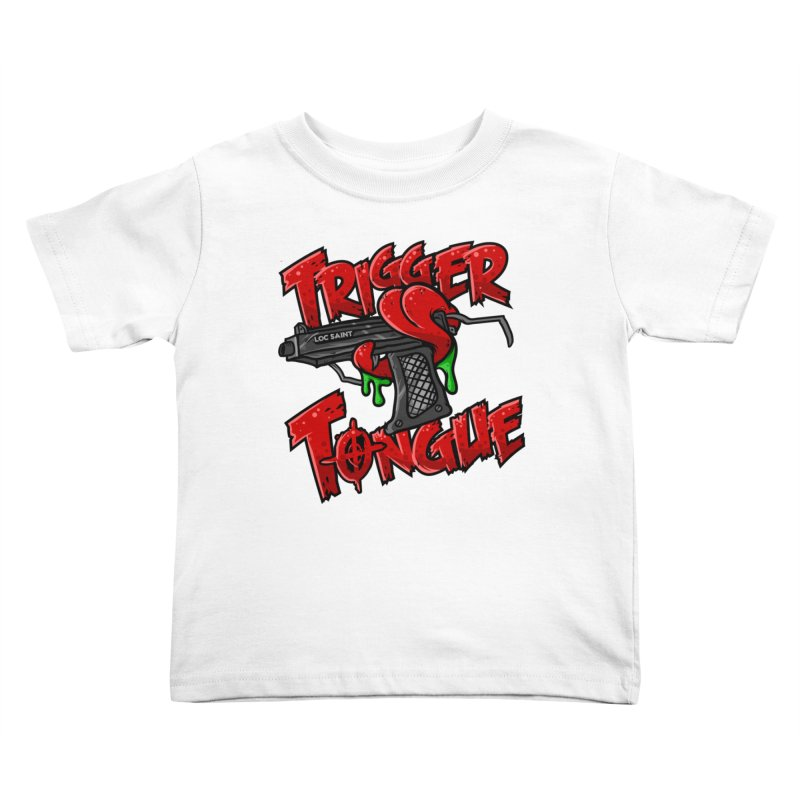 Trigger Tongue Mugs Kids Toddler T-Shirt by Official Loc Saint Music Merch
