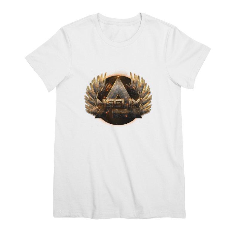 """Angelix"" Symbolic Women's Premium T-Shirt by Official Loc Saint Music Merch"