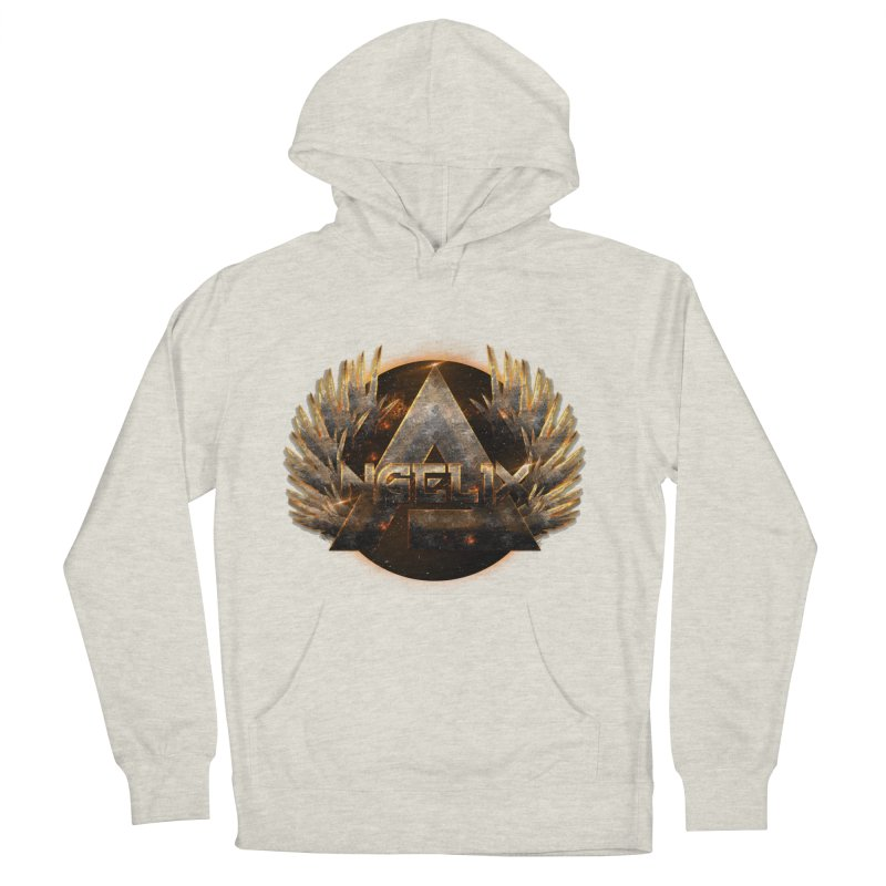 """Angelix"" Symbolic Men's French Terry Pullover Hoody by Official Loc Saint Music Merch"