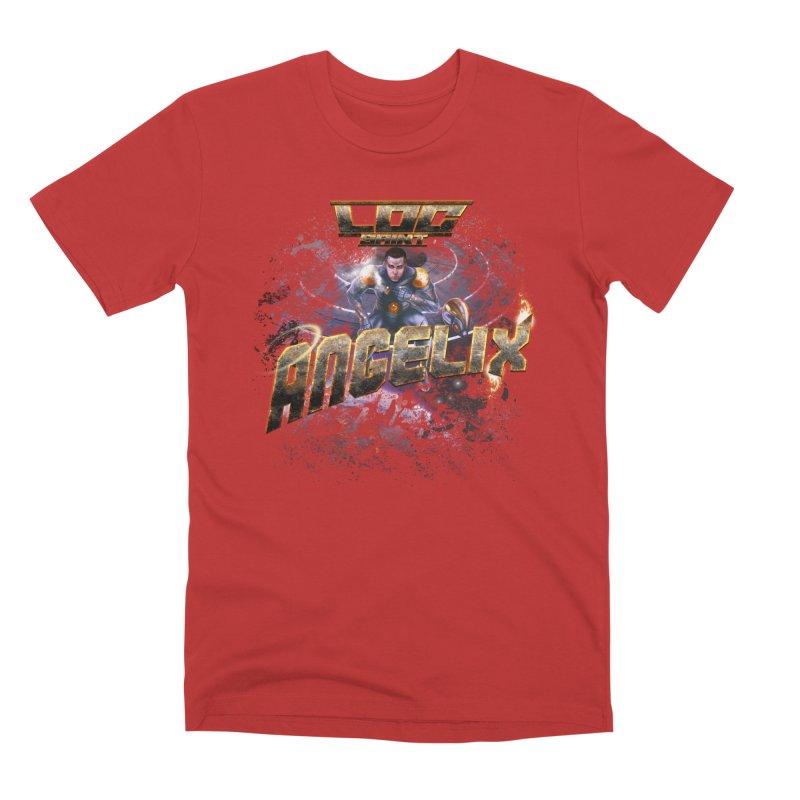 """Angelix """"Comic"""" Men's Premium T-Shirt by Official Loc Saint Music Merch"""