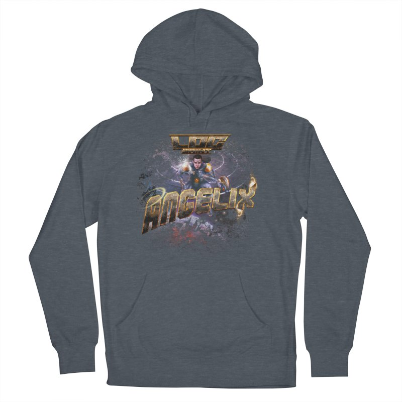 """Angelix """"Comic"""" Women's French Terry Pullover Hoody by Official Loc Saint Music Merch"""