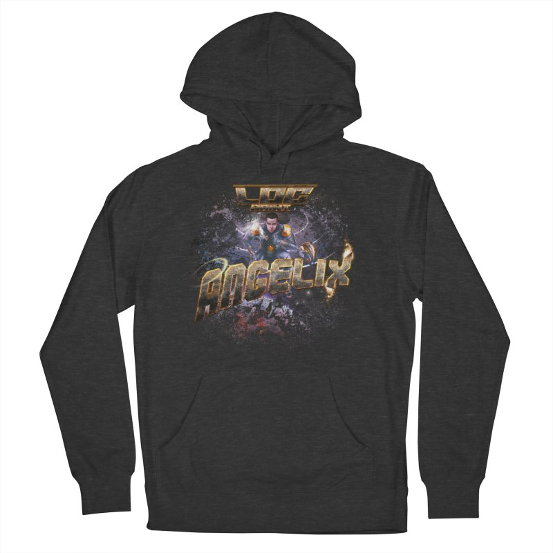 """Angelix """"Comic"""" Men's French Terry Pullover Hoody by Official Loc Saint Music Merch"""