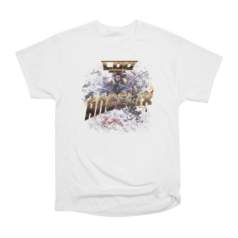 """Angelix """"Comic"""" Men's Heavyweight T-Shirt by Official Loc Saint Music Merch"""
