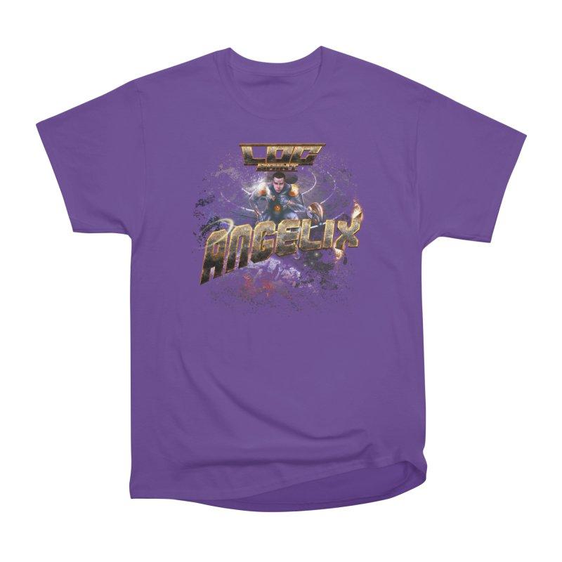 """Angelix """"Comic"""" Women's Heavyweight Unisex T-Shirt by Official Loc Saint Music Merch"""