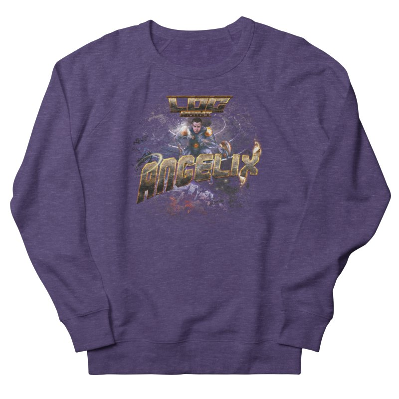 """Angelix """"Comic"""" Women's French Terry Sweatshirt by Official Loc Saint Music Merch"""