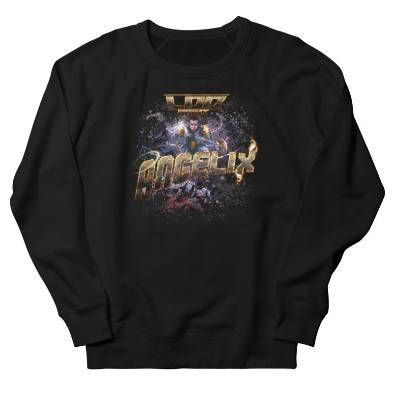 """Angelix """"Comic"""" Men's French Terry Sweatshirt by Official Loc Saint Music Merch"""