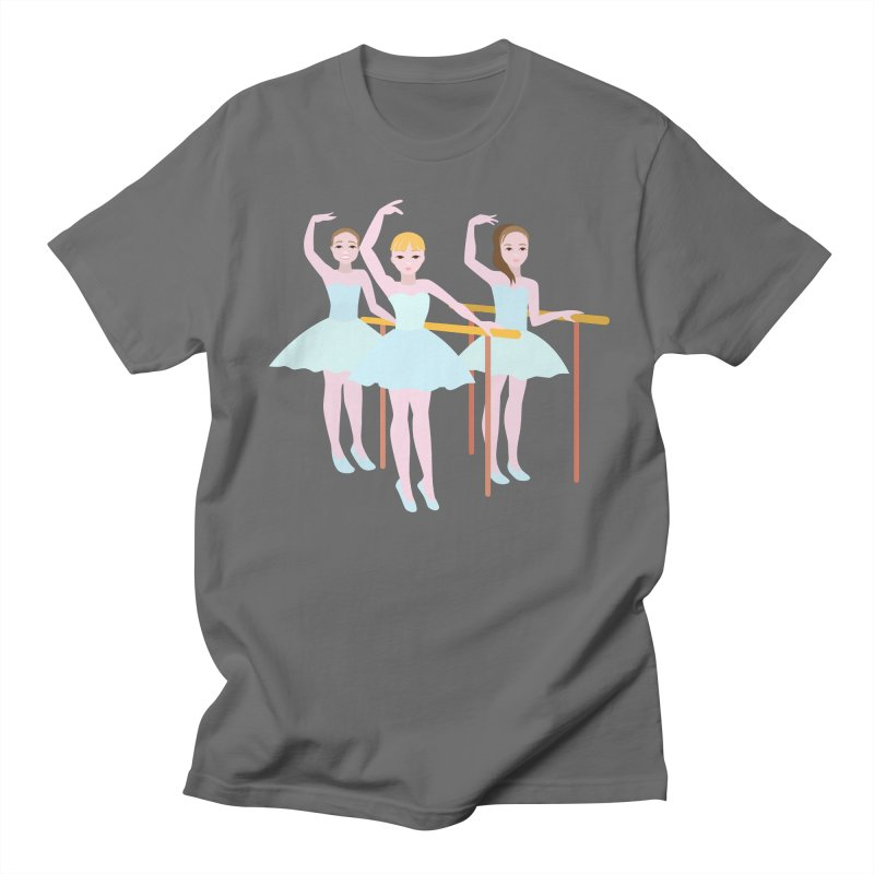 Girls at Ballet Class Men's T-Shirt by Logo Gear & Logo Wear