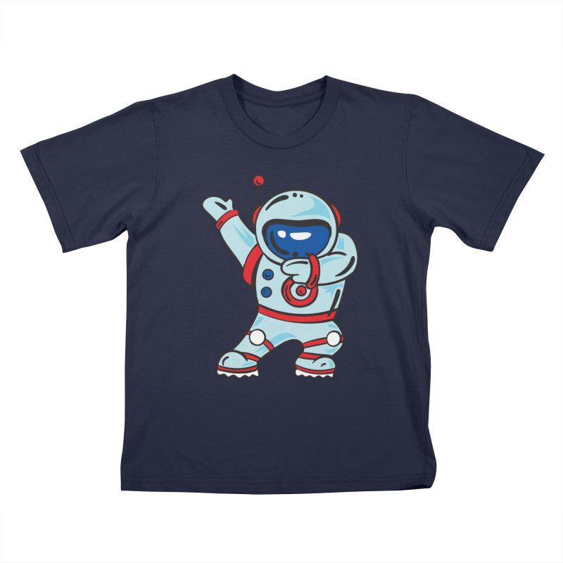 Dabbing Astronaut Kids T-Shirt by Logo Gear & Logo Wear