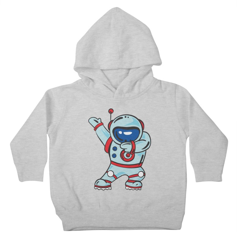Dabbing Astronaut Kids Toddler Pullover Hoody by Logo Gear & Logo Wear