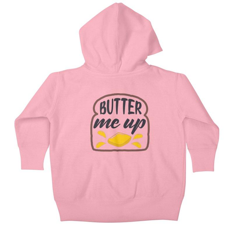 Butter Me Up Kids Baby Zip-Up Hoody by Logo Gear & Logo Wear