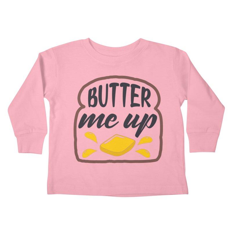 Butter Me Up Kids Toddler Longsleeve T-Shirt by Logo Gear & Logo Wear