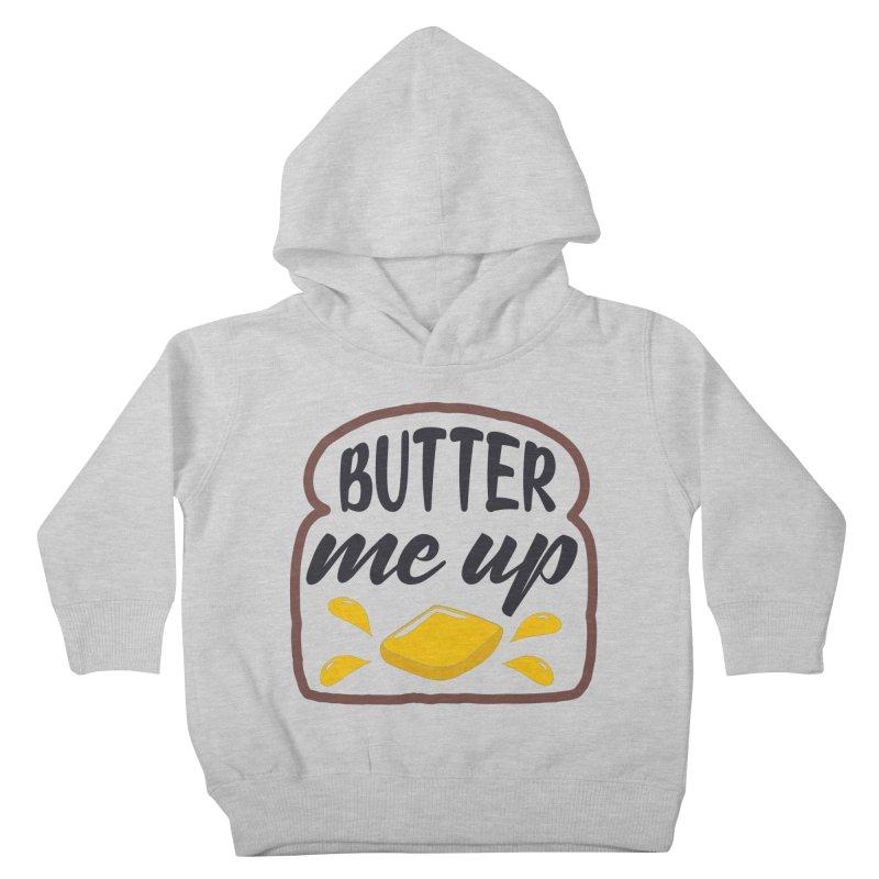 Butter Me Up Kids Toddler Pullover Hoody by Logo Gear & Logo Wear