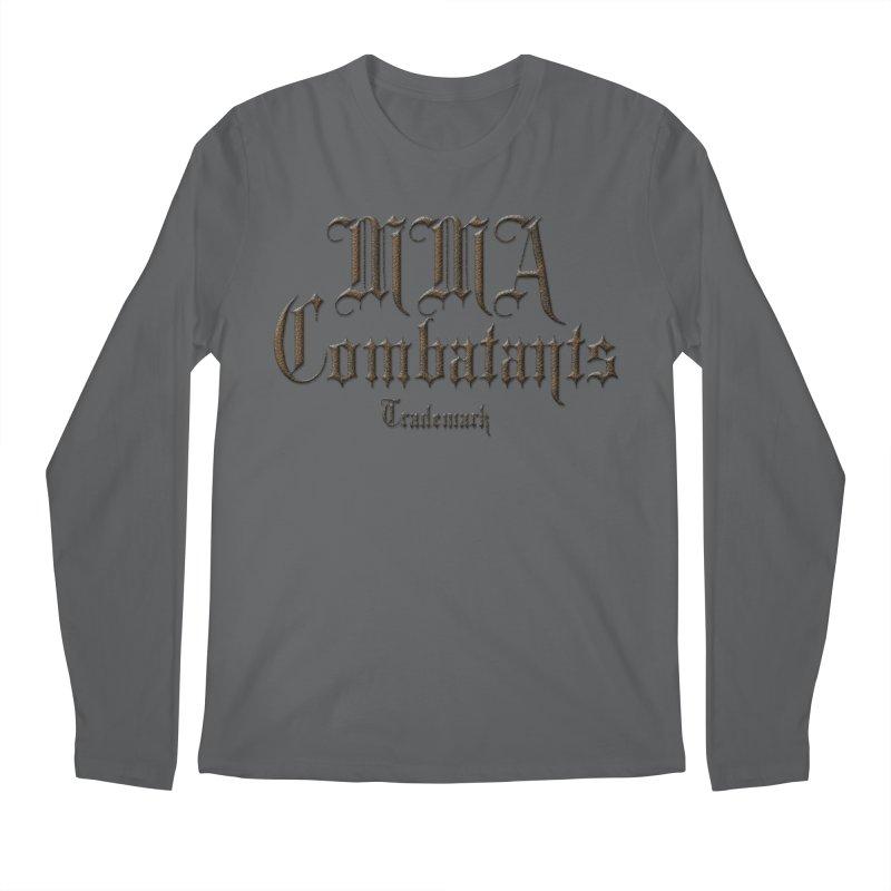 MMA Combatants Trademark Apparel Men's Longsleeve T-Shirt by Logo Gear & Logo Wear