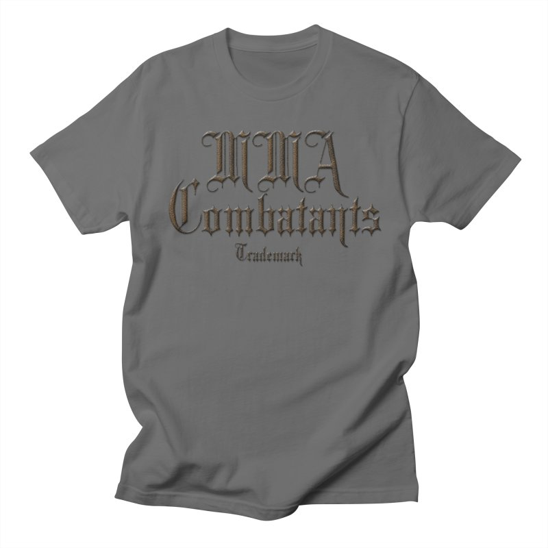 MMA Combatants Trademark Apparel Men's T-Shirt by Logo Gear & Logo Wear
