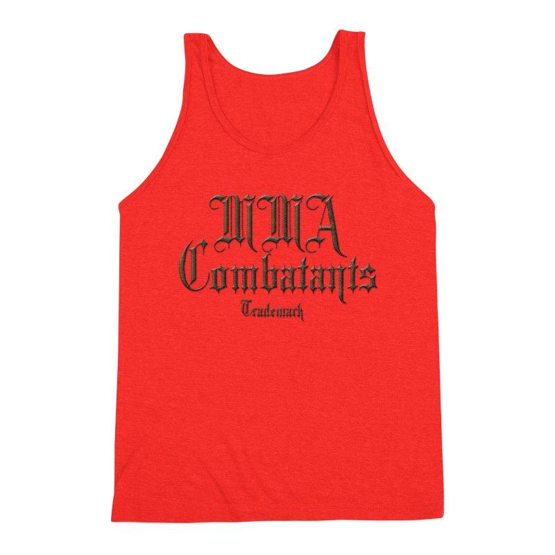 MMA Combatants Trademark Apparel Men's Tank by Logo Gear & Logo Wear