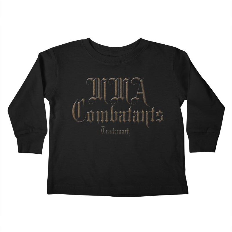 MMA Combatants Trademark Apparel Kids Toddler Longsleeve T-Shirt by Logo Gear & Logo Wear