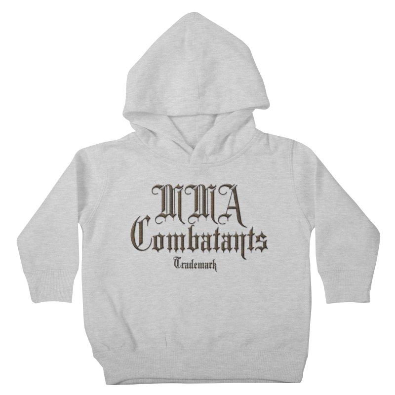 MMA Combatants Trademark Apparel Kids Toddler Pullover Hoody by Logo Gear & Logo Wear