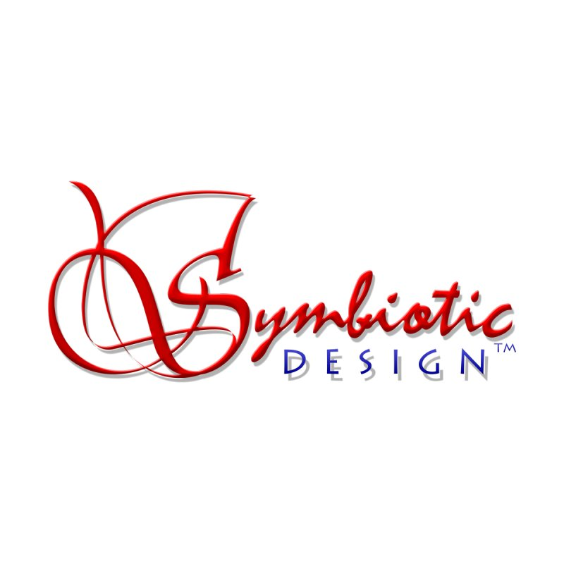 Symbiotic Design Trademark Art Home Framed Fine Art Print by Logo Gear & Logo Wear