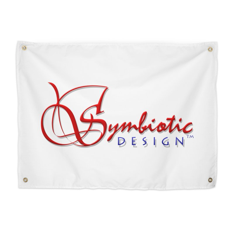 Symbiotic Design Trademark Art Home Tapestry by Logo Gear & Logo Wear