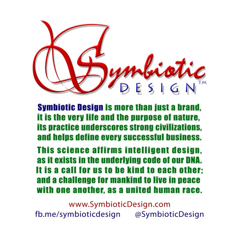 Symbiotic Design is more than a brand... by Logo Gear & Logo Wear